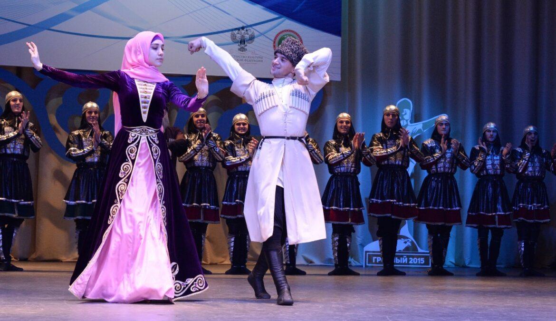Праздничный концерт ко Дню чеченской женщины