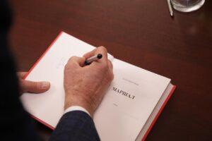 В ЧГПУ состоялась презентация нового романа народного писателя Чеченской Республики Канты Ибрагимова «Маршал»