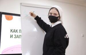В Педагогической мастерской ЧГПУ прошел мастер-класс студентки 2 курса