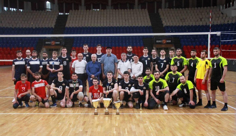 Волейбольная команда ЧГПУ стала победителем чемпионата Чеченской Республики по волейболу