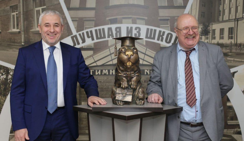 ЧГПУ подписал договор о сотрудничестве с Академической гимназией № 56 Санкт-Петербурга
